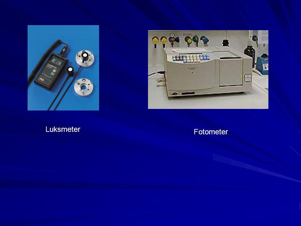 Luksmeter Fotometer