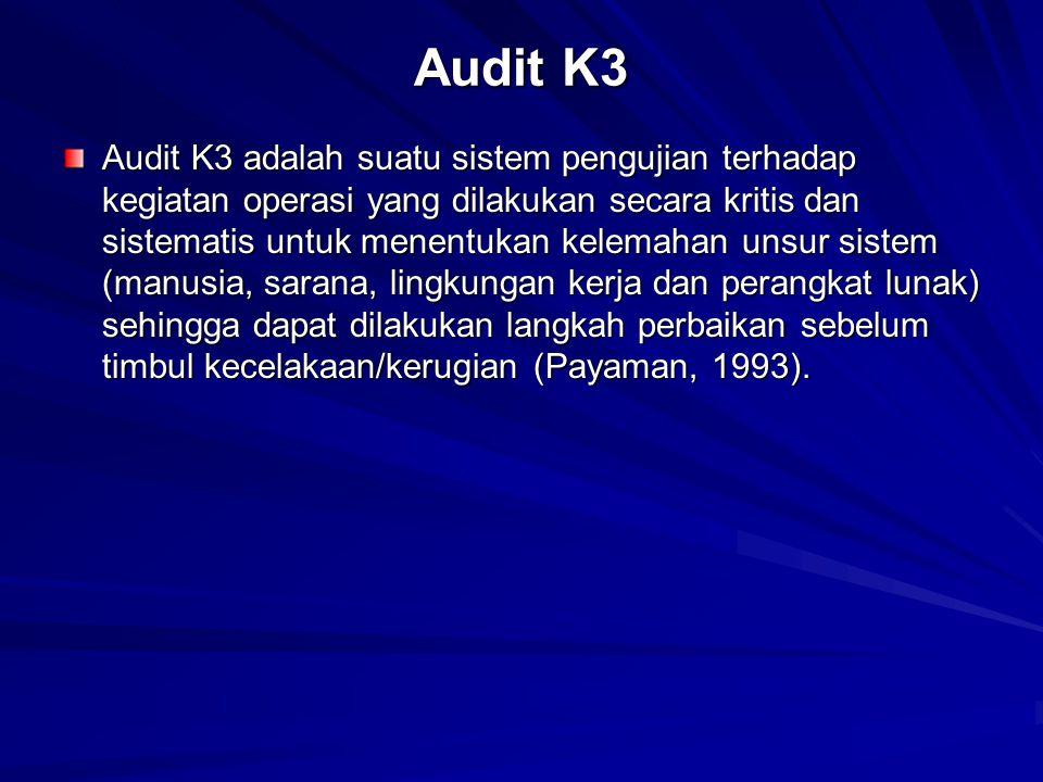 Audit K3