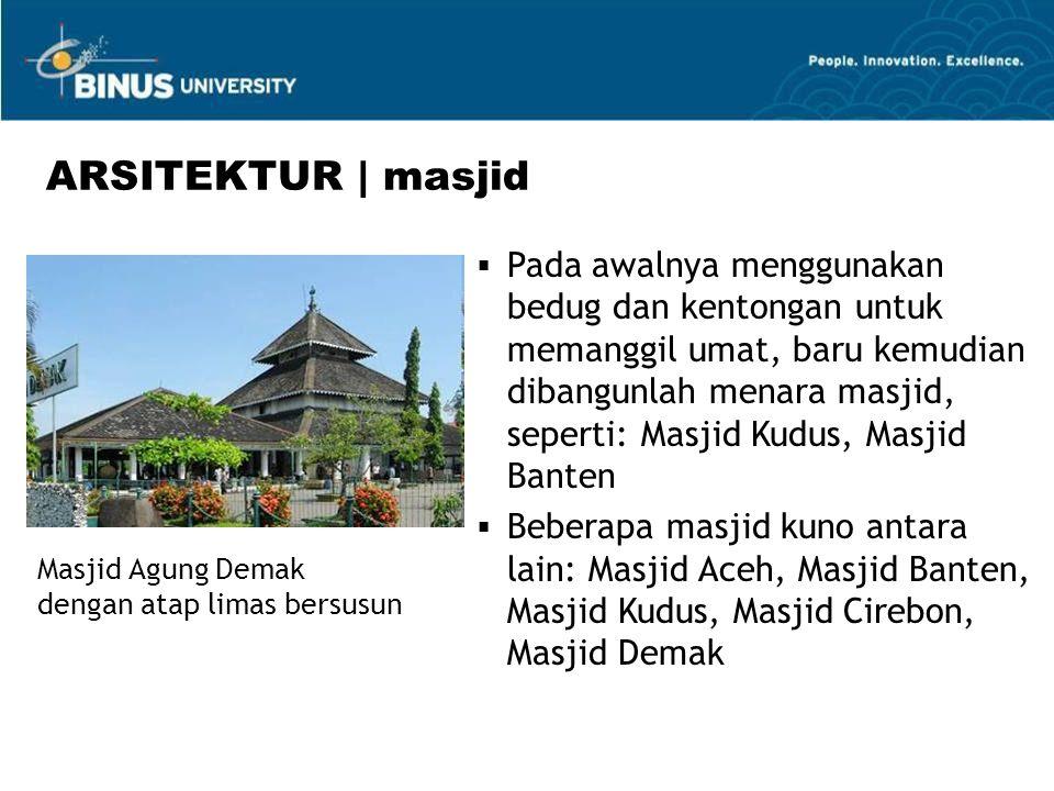 ARSITEKTUR | masjid