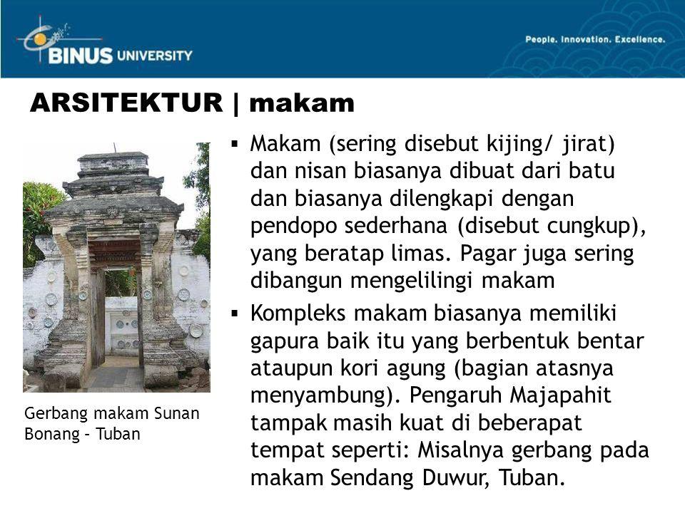 ARSITEKTUR | makam