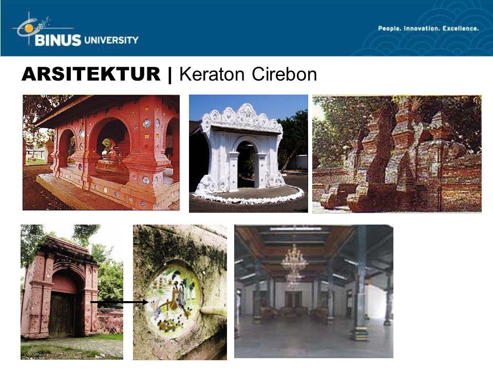 ARSITEKTUR | Keraton Cirebon