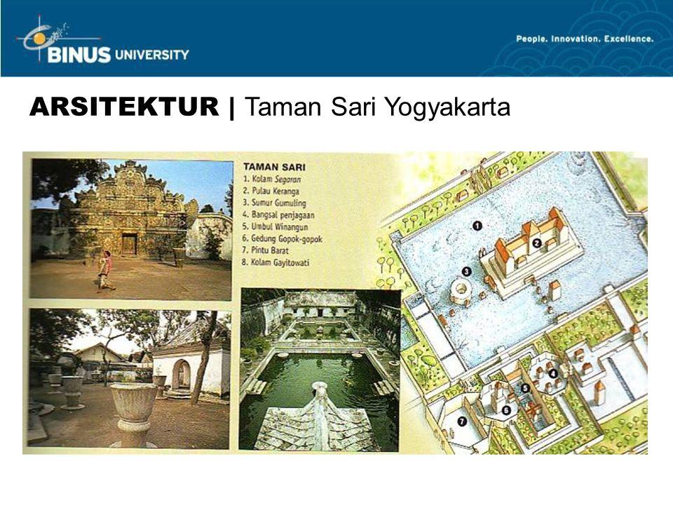 ARSITEKTUR | Taman Sari Yogyakarta
