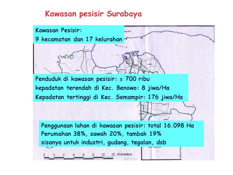 Kawasan pesisir Surabaya