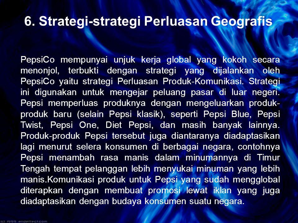 6. Strategi-strategi Perluasan Geografis