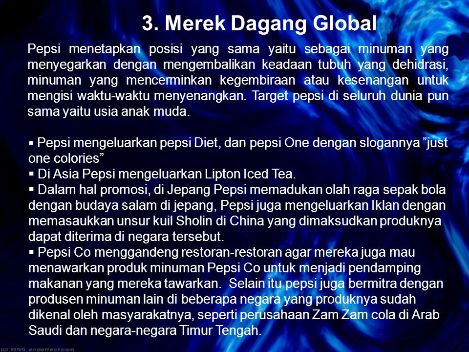 3. Merek Dagang Global