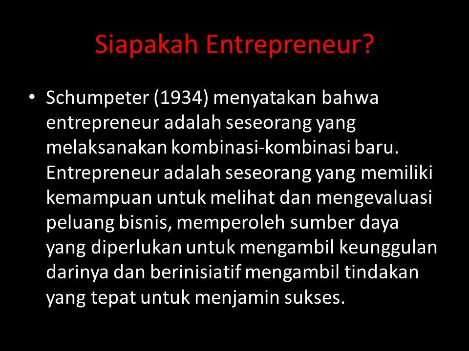 Siapakah Entrepreneur