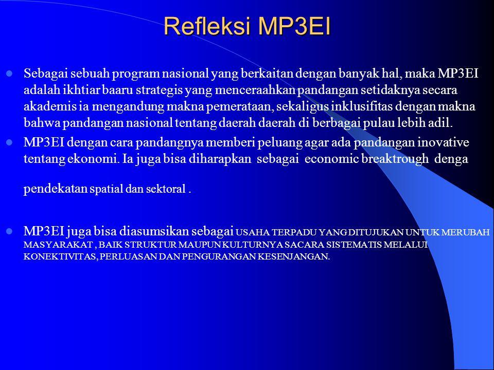Refleksi MP3EI