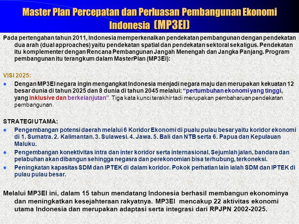 Master Plan Percepatan dan Perluasan Pembangunan Ekonomi Indonesia (MP3EI)