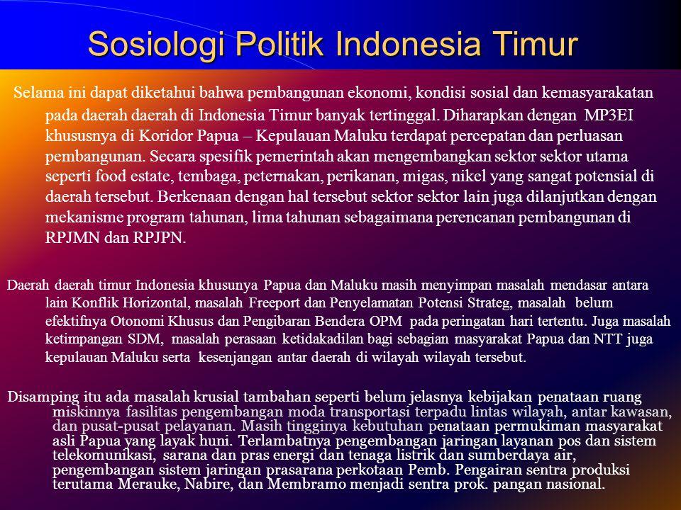 Sosiologi Politik Indonesia Timur