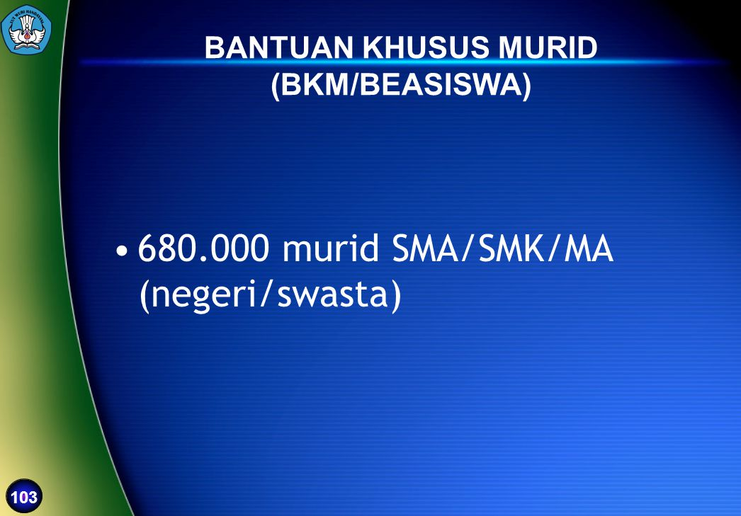 BANTUAN KHUSUS MURID (BKM/BEASISWA)