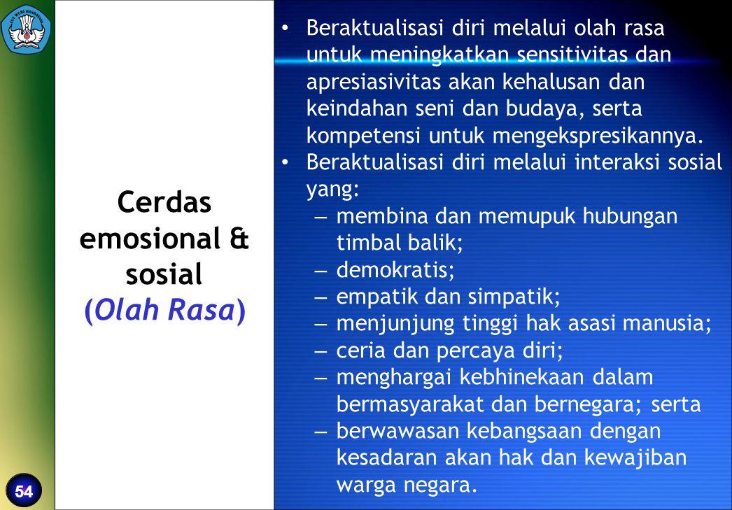 Cerdas emosional & sosial