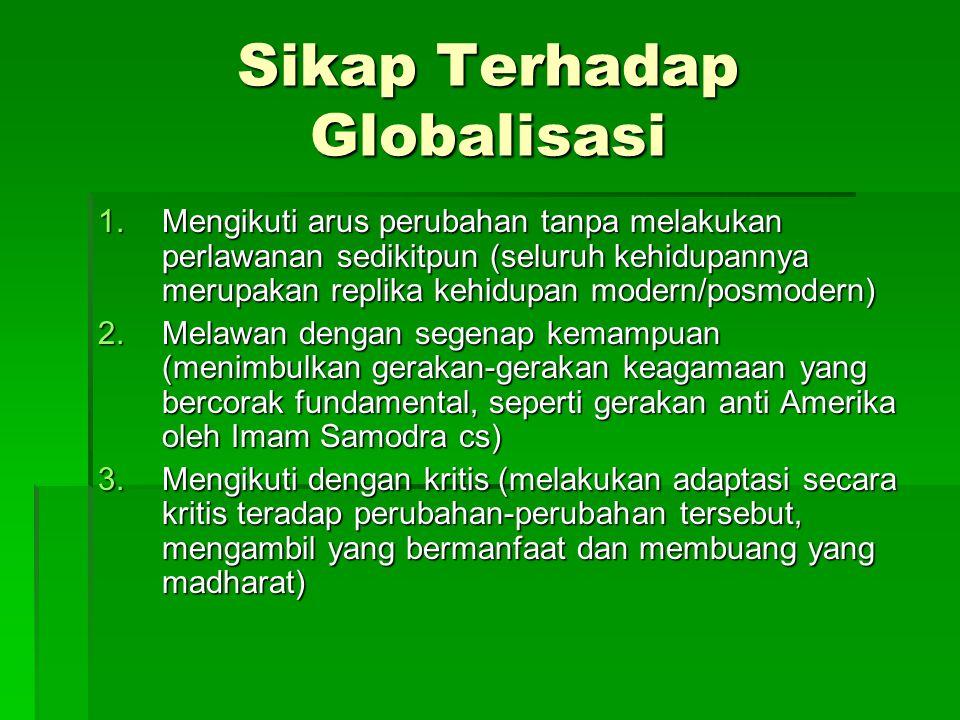 Sikap Terhadap Globalisasi