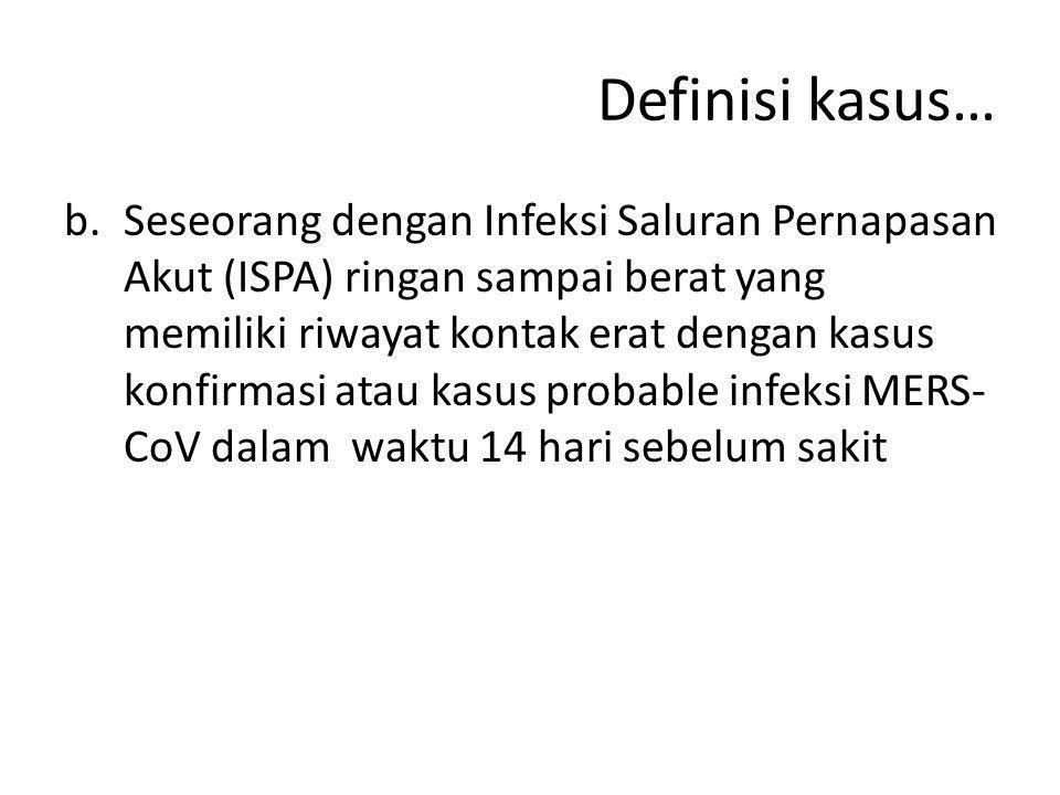 Definisi kasus…
