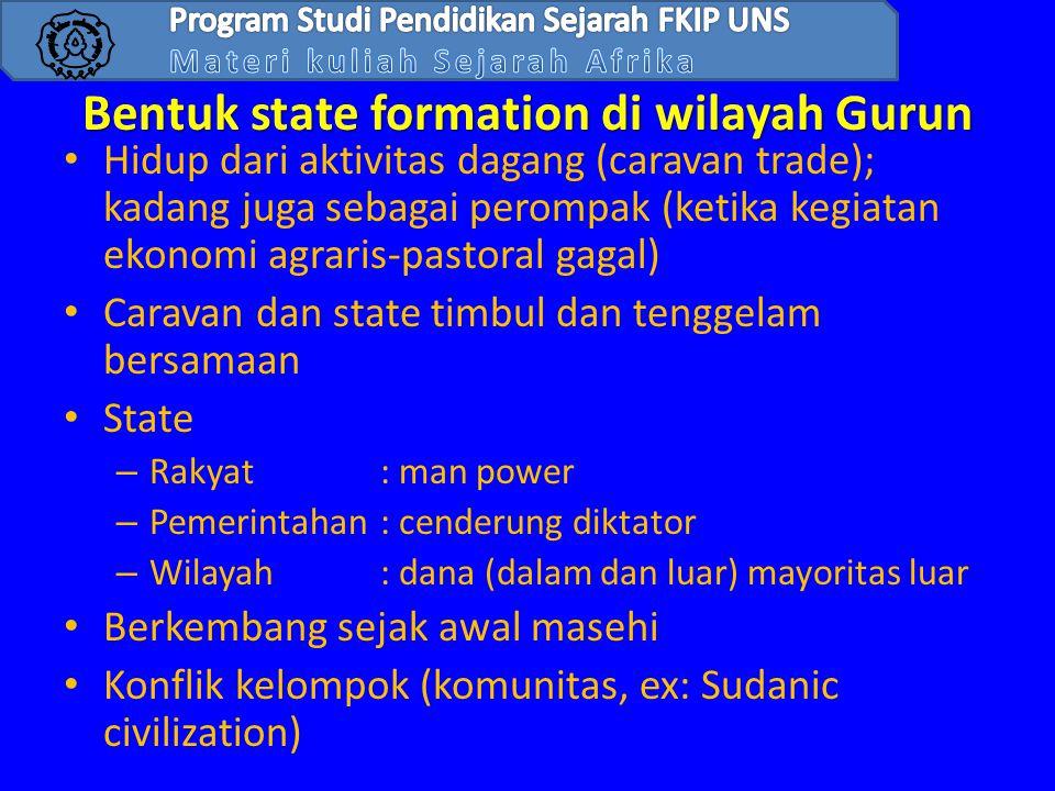 Bentuk state formation di wilayah Gurun