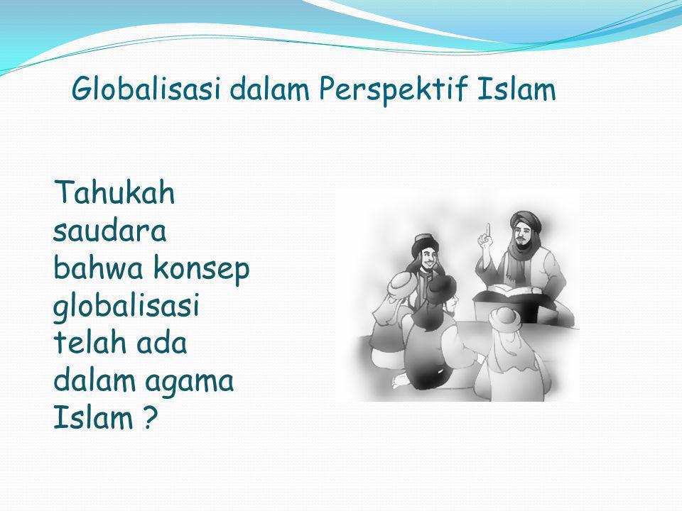 Globalisasi dalam Perspektif Islam