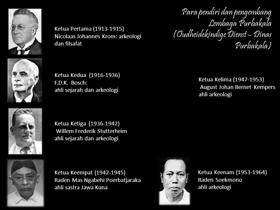 Para pendiri dan pengembang Lembaga Purbakala