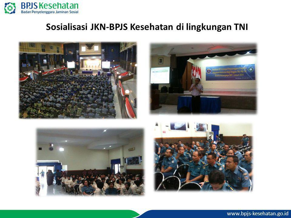 Sosialisasi JKN-BPJS Kesehatan di lingkungan TNI