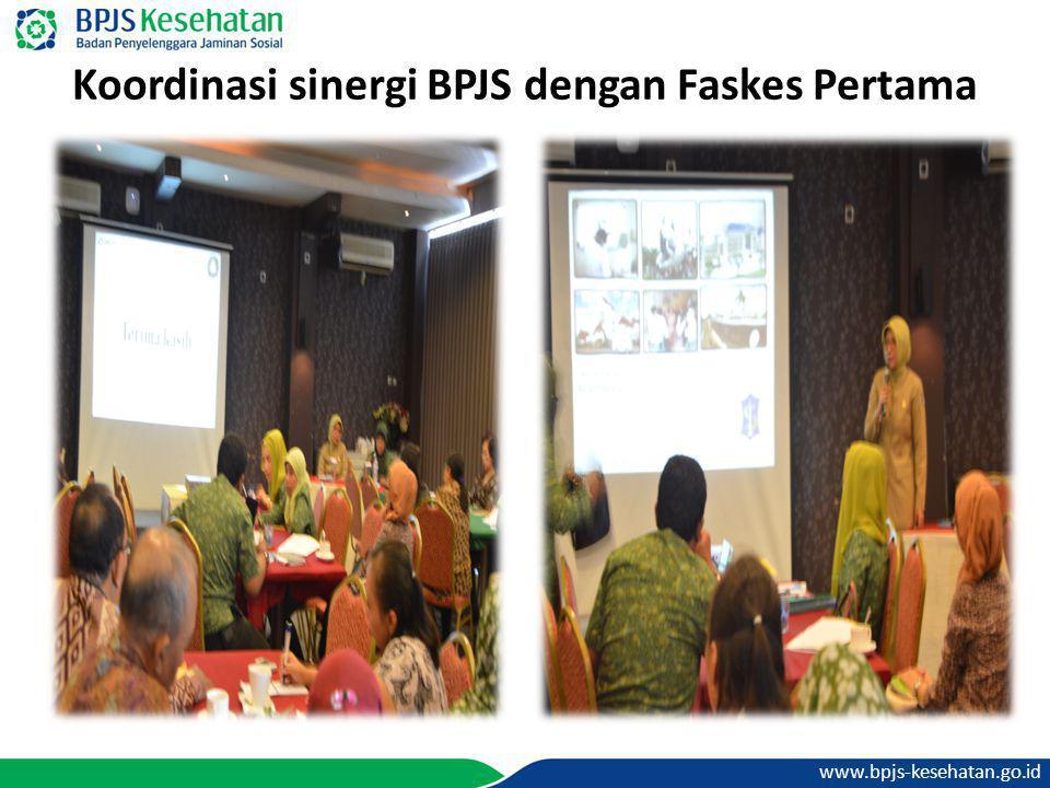 Koordinasi sinergi BPJS dengan Faskes Pertama