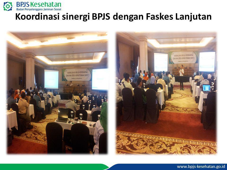 Koordinasi sinergi BPJS dengan Faskes Lanjutan