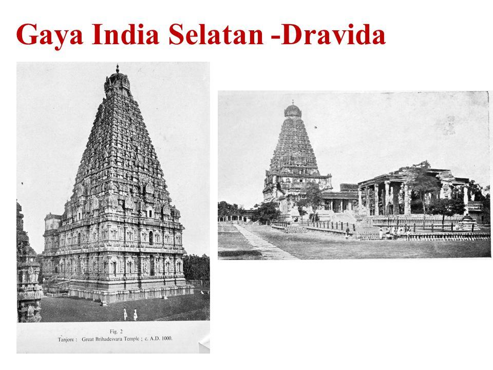 Gaya India Selatan -Dravida