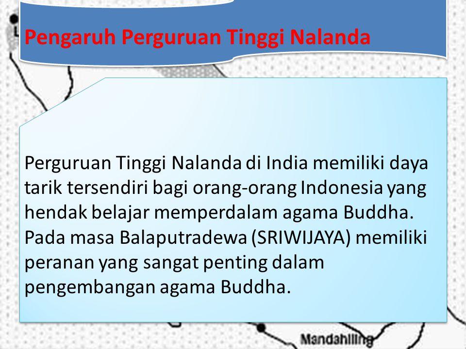 Pengaruh Perguruan Tinggi Nalanda