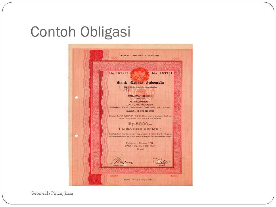 Contoh Obligasi Getereida Pinangkaan