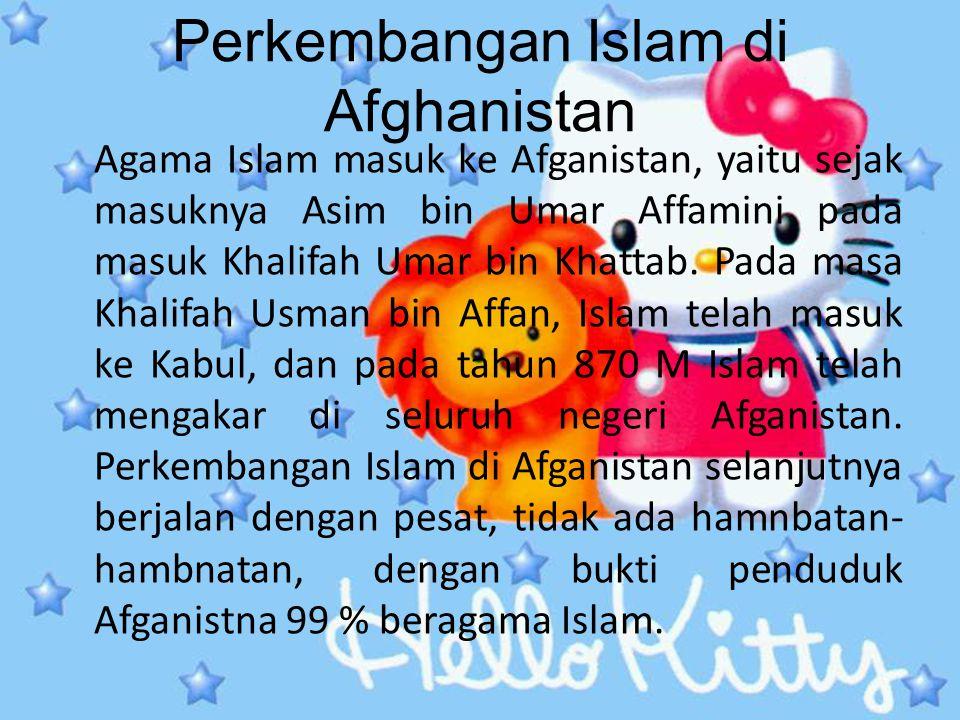 Perkembangan Islam di Afghanistan