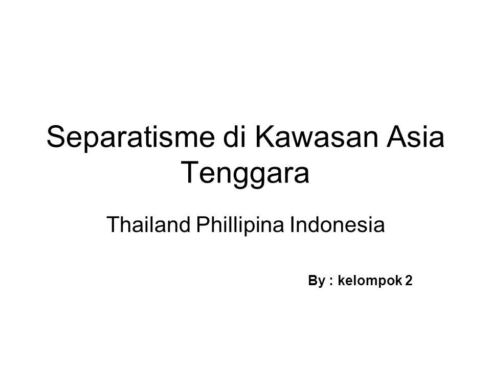 Separatisme di Kawasan Asia Tenggara