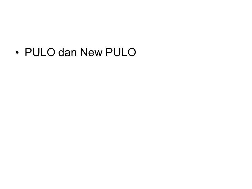 PULO dan New PULO