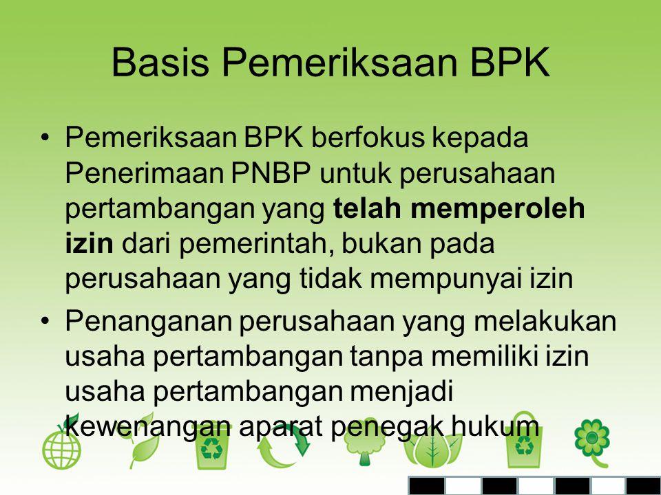 Basis Pemeriksaan BPK
