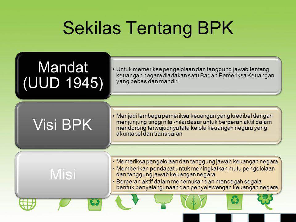 Sekilas Tentang BPK Mandat (UUD 1945)