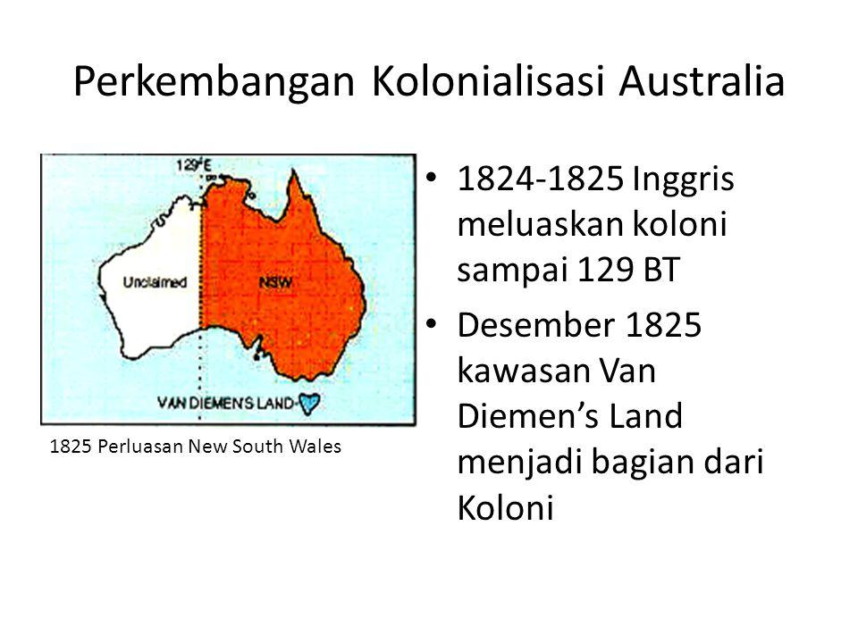 Perkembangan Kolonialisasi Australia