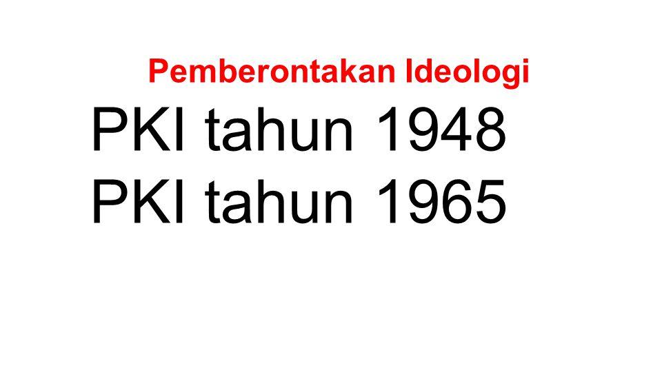 Pemberontakan Ideologi