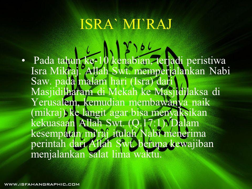 ISRA` MI`RAJ