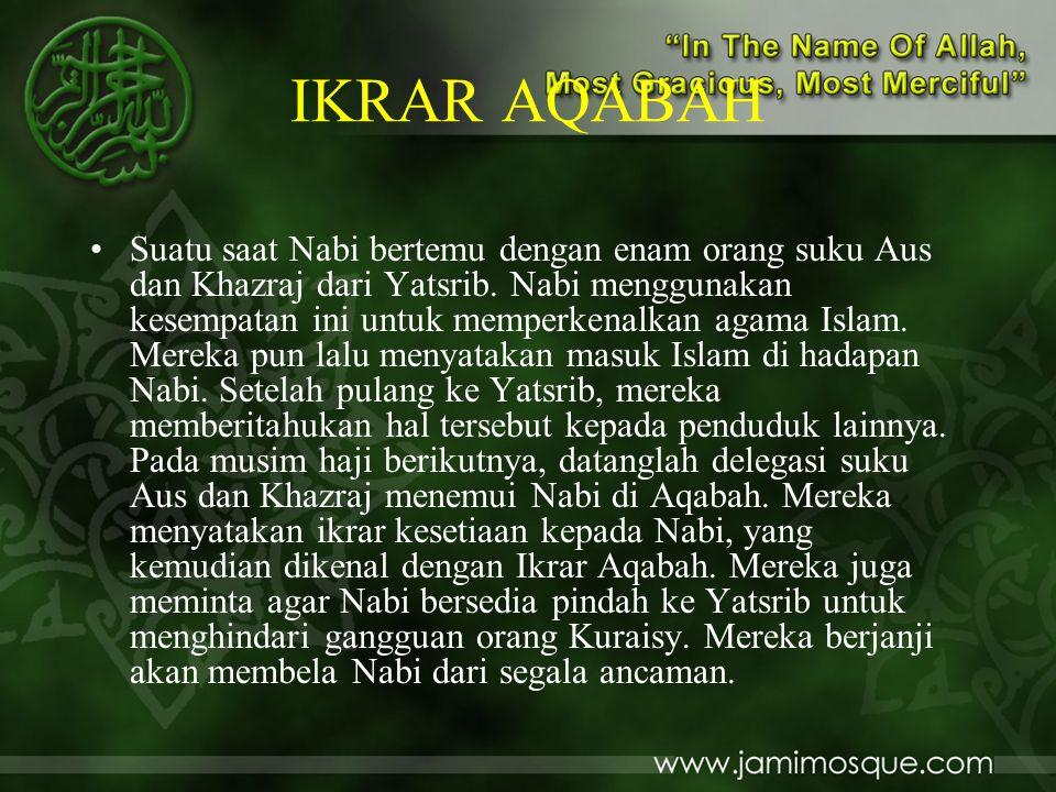 IKRAR AQABAH