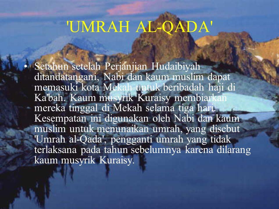 UMRAH AL-QADA