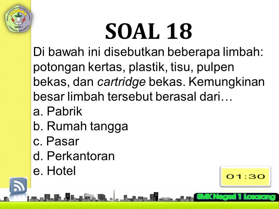 SOAL 18