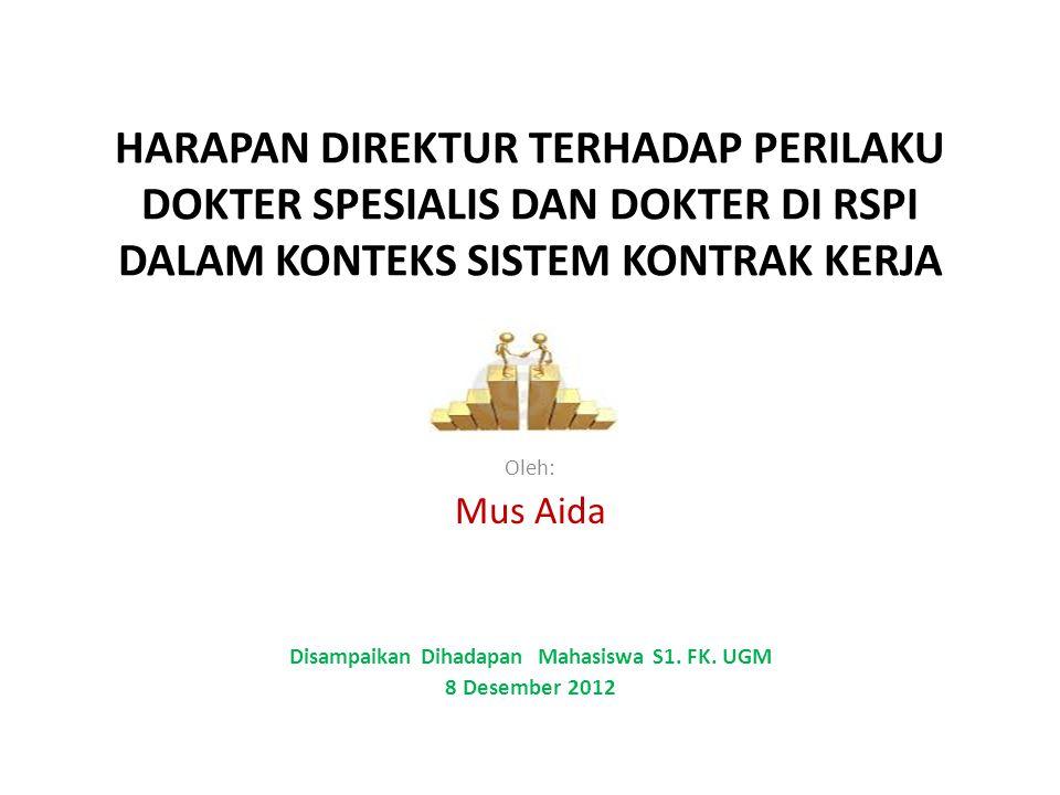 Disampaikan Dihadapan Mahasiswa S1. FK. UGM