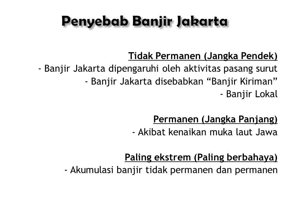 Penyebab Banjir Jakarta