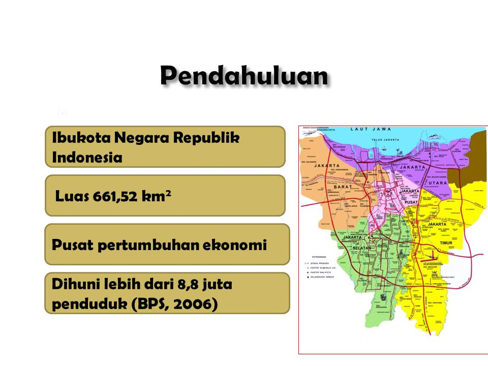 Pendahuluan Kota Jakarta: Ibukota Negara Republik Indonesia