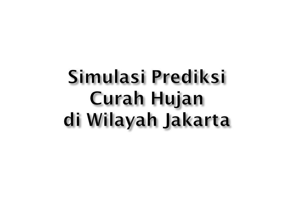 Simulasi Prediksi Curah Hujan di Wilayah Jakarta