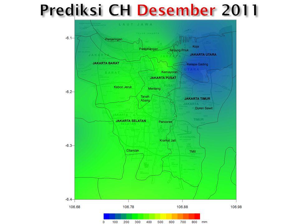 Prediksi CH Desember 2011