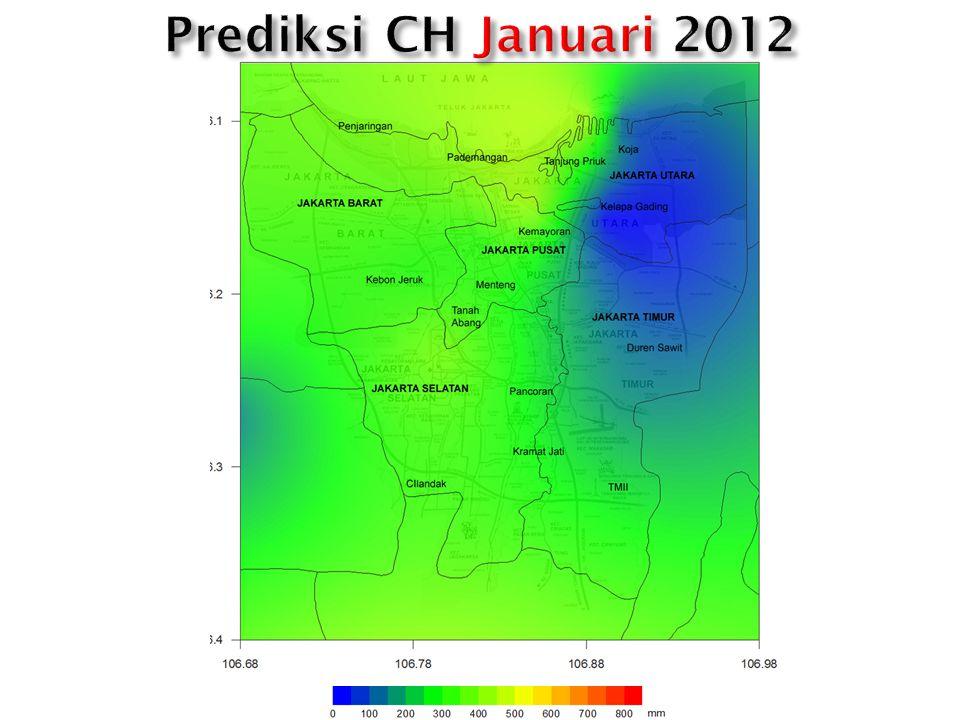 Prediksi CH Januari 2012
