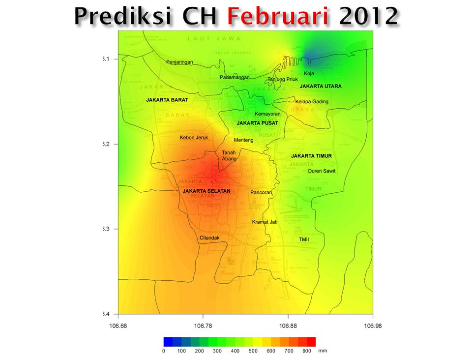 Prediksi CH Februari 2012