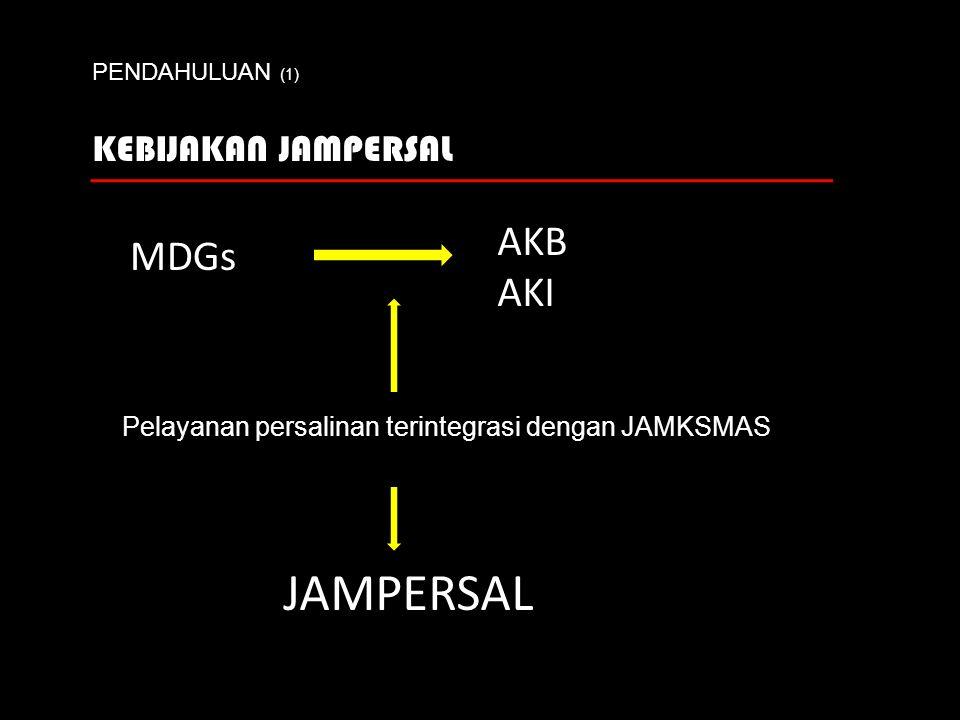 Pelayanan persalinan terintegrasi dengan JAMKSMAS