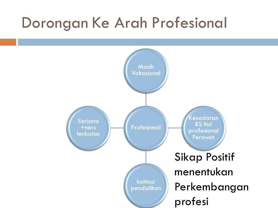 Dorongan Ke Arah Profesional