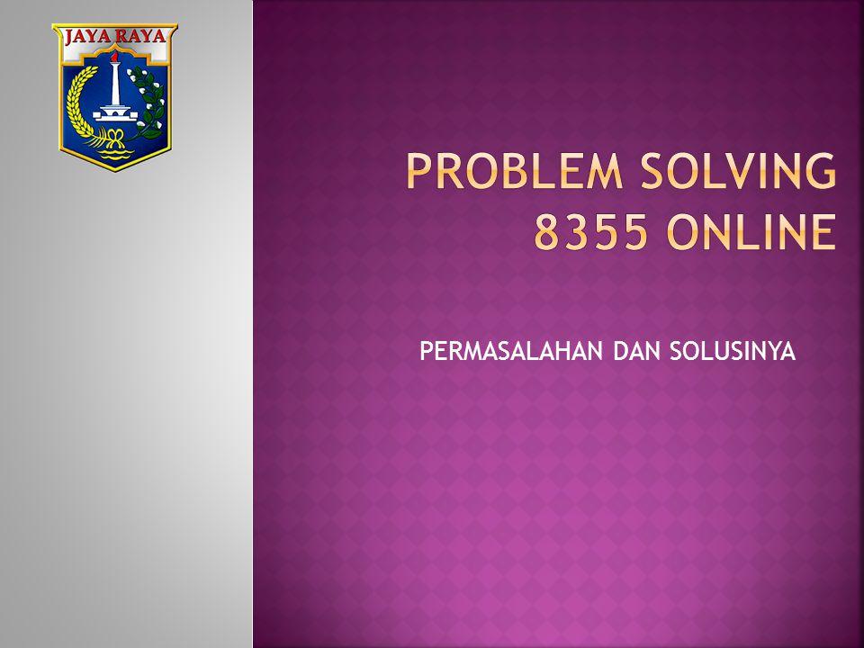 PROBLEM SOLVING 8355 ONLINE