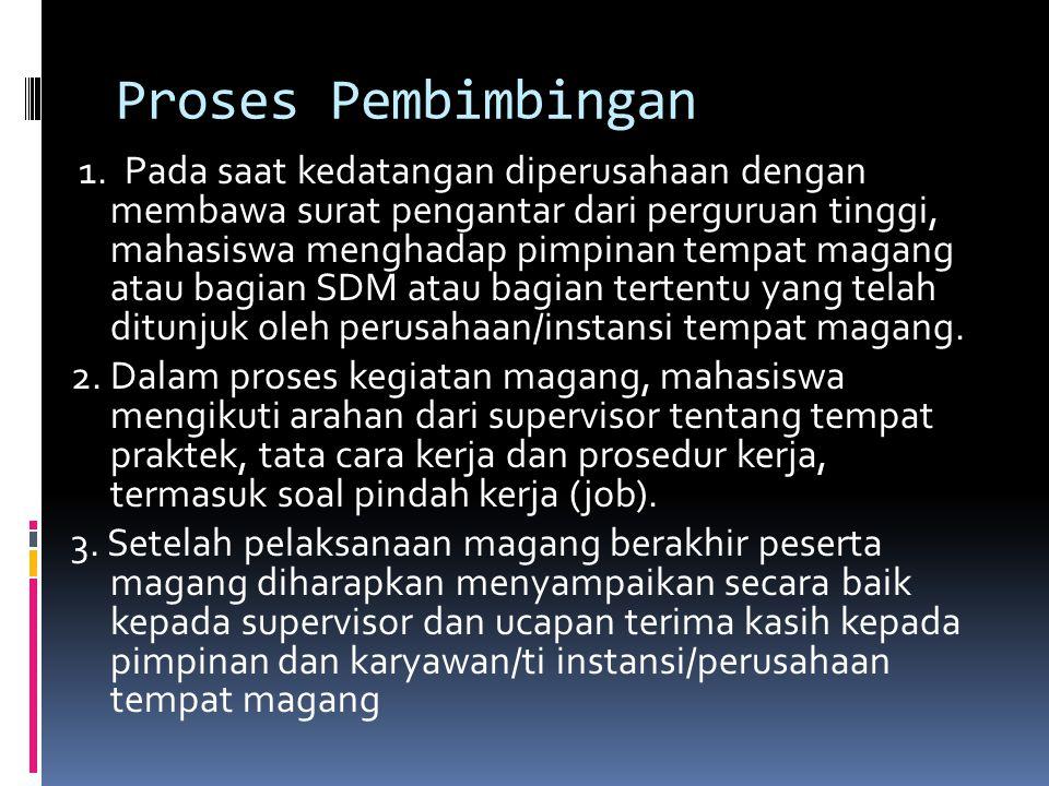 Proses Pembimbingan