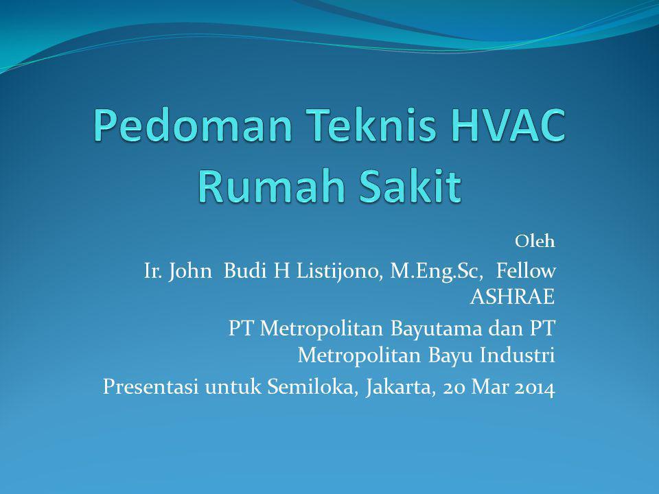 Pedoman Teknis HVAC Rumah Sakit
