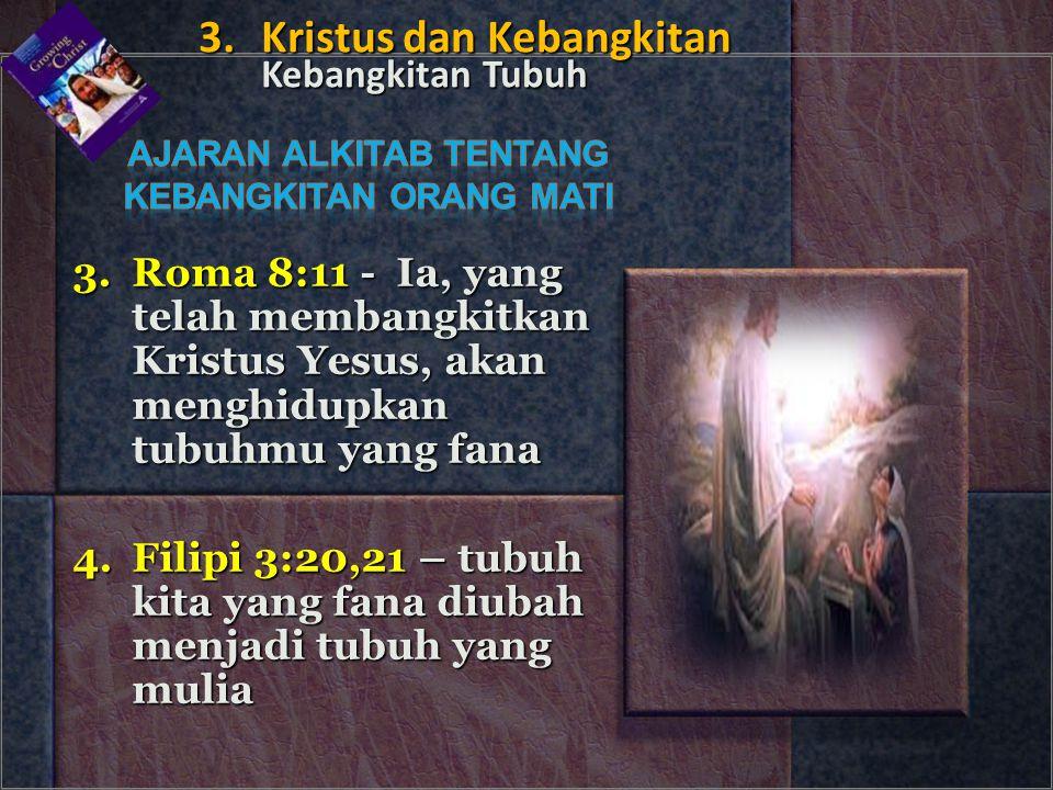 Ajaran ALKITAb tentang Kebangkitan orang mati